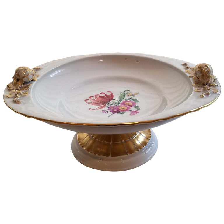 KPM Berlin Porcelain Tazza or Compote For Sale