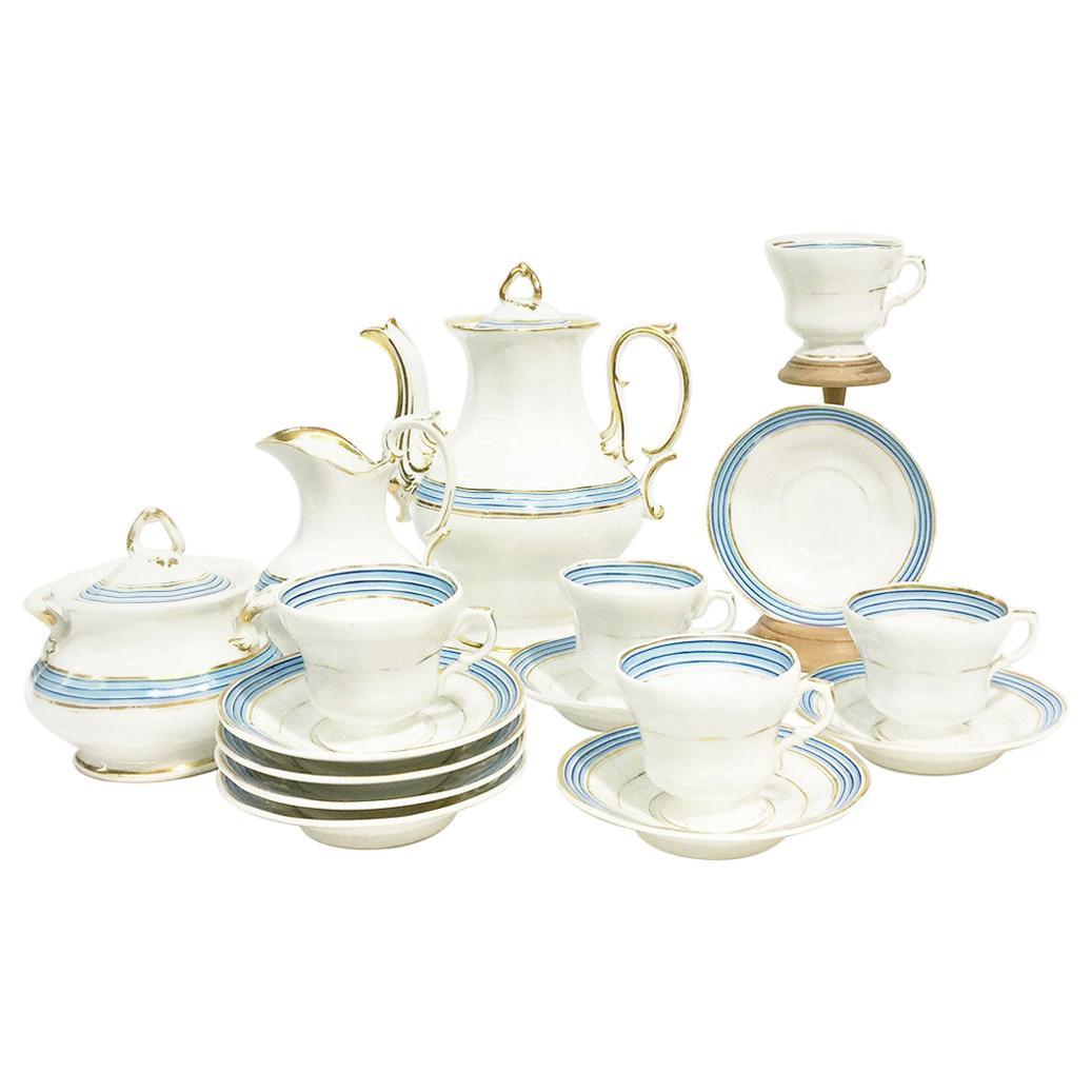 KPM Porcelain Coffee, Tea Service, 19th Century, Germany '1834-1837'