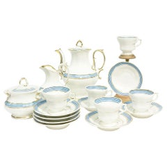KPM Porcelain Coffee, Tea Service, 19th Century, Germany '1834-1837'