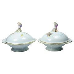 KPM Porcelain Pair of Peas