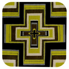 KR3 Woollen Carpet by Karim Rashid for Post Design Collection/Memphis