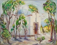Chapel In The Sea Garden In Varna