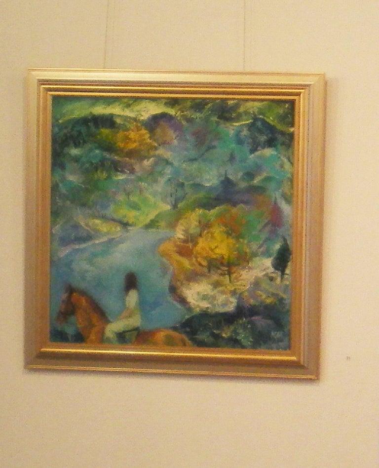 Emotional Presence - Painting by Krasimira Mihailova