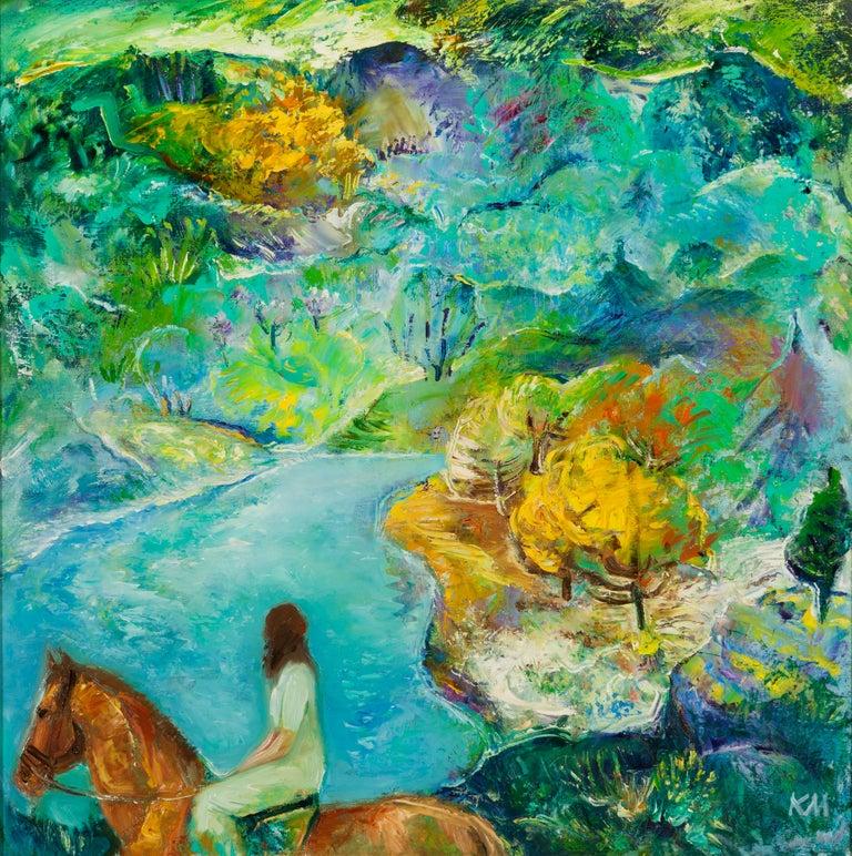 Krasimira Mihailova Landscape Painting - Emotional Presence