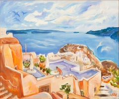Santorini, Living In Oia