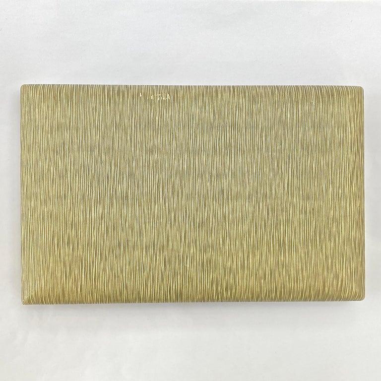 Krementz 14K White Gold Overlay Leaf Design Rhinestone Necklace and Earring Set For Sale 16