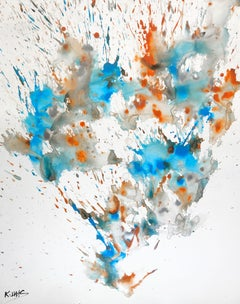 Chaotic Craziness Series . -  2185.041114, Painting, Gouache on Paper