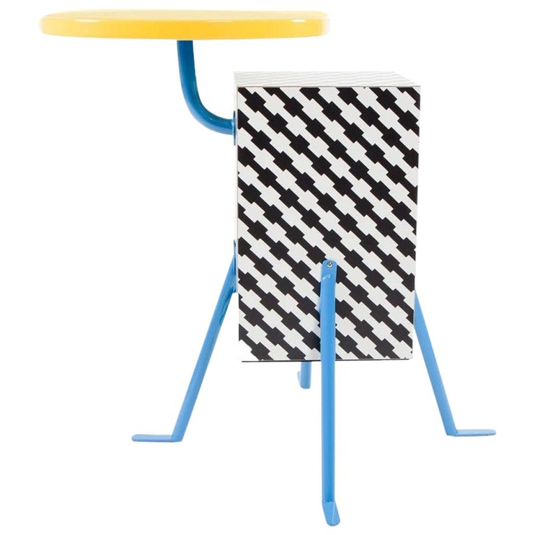 Kristall End Table, by Michele De Lucchi from Memphis Milano For Sale