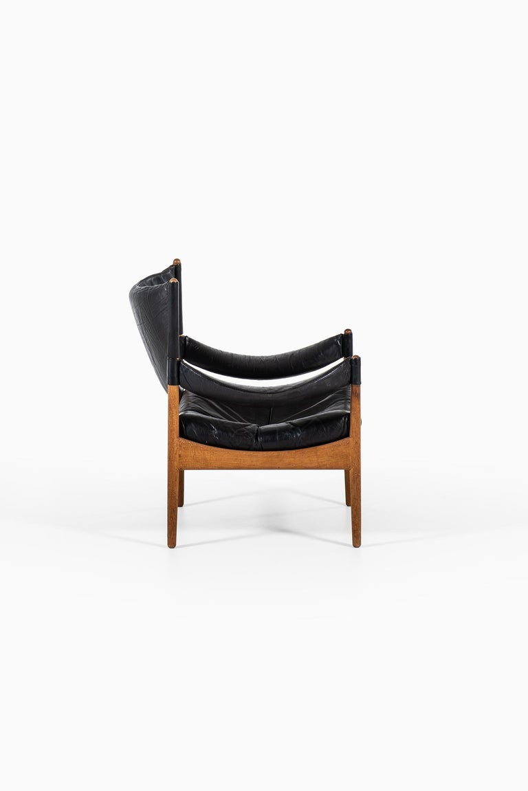 Mid-20th Century Kristian Solmer Vedel Easy Chairs Model Modus by Søren Willadsen in Denmark For Sale