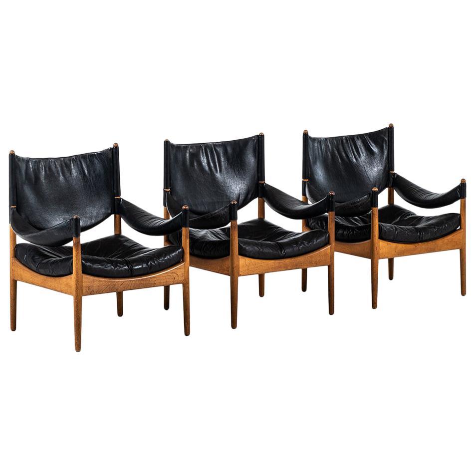 Kristian Solmer Vedel Easy Chair Model Modus by Søren Willadsen in Denmark