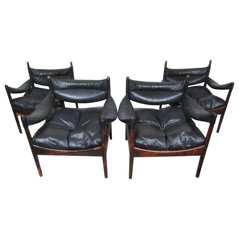 Kristian Solmer Vedel 'Modus' Lounge Chairs For Sale