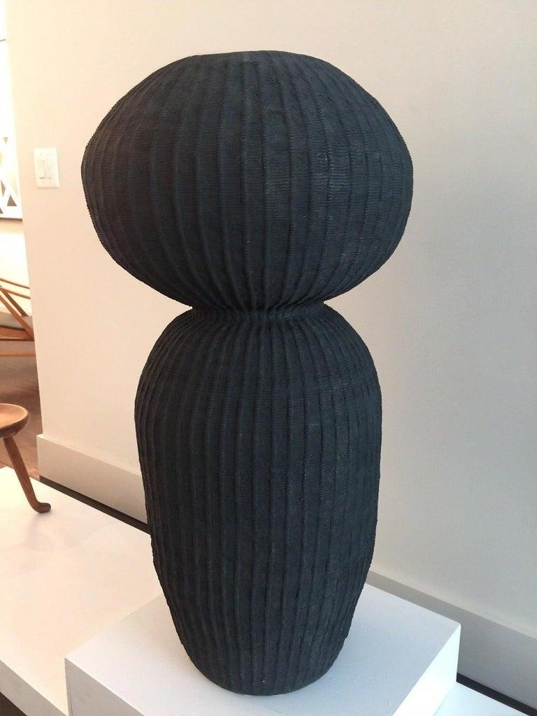 Scandinavian Modern Kristina Riska Ceramic Floor Urn, 2015 For Sale
