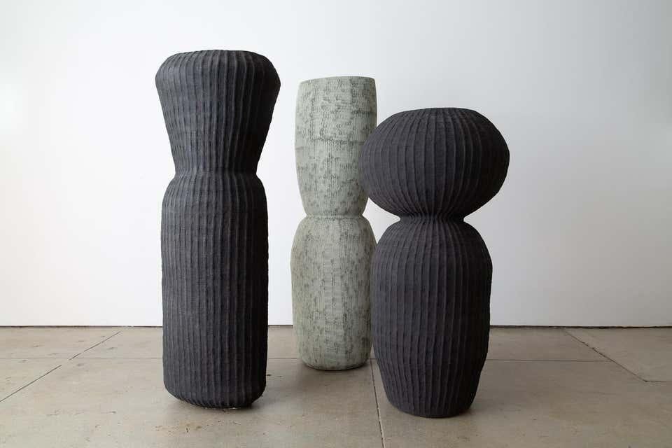 Kristina Riska ceramic floor urn, new