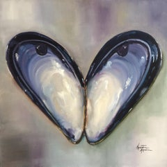 Blue Mussel, Oil Painting