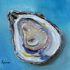 Juicy Oyster, Oil Painting