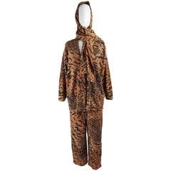 Krizia Vintage Wool & Angora Knit 3pc Womens Cardigan Suit