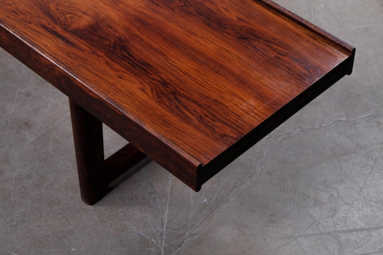 Mid-20th Century Krobo Bench / Side Table by Torbjörn Afdal, Bruksbo, 1960s For Sale
