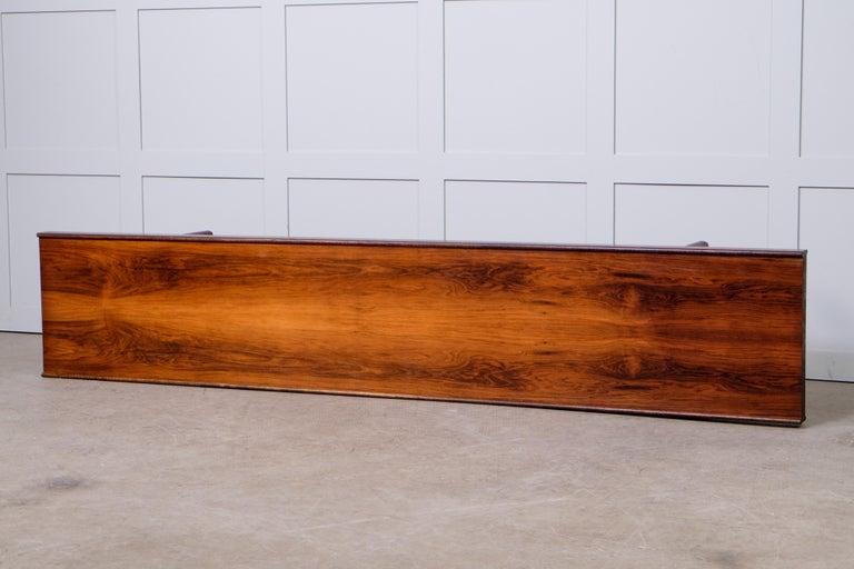 Teak Krobo Bench / Side Table by Torbjörn Afdal, Bruksbo, 1960s For Sale