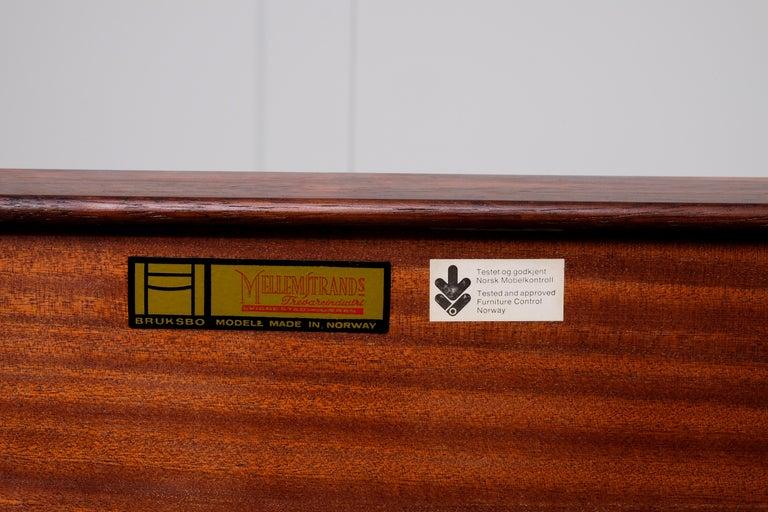 Krobo Bench / Side Table by Torbjörn Afdal, Bruksbo, 1960s For Sale 1