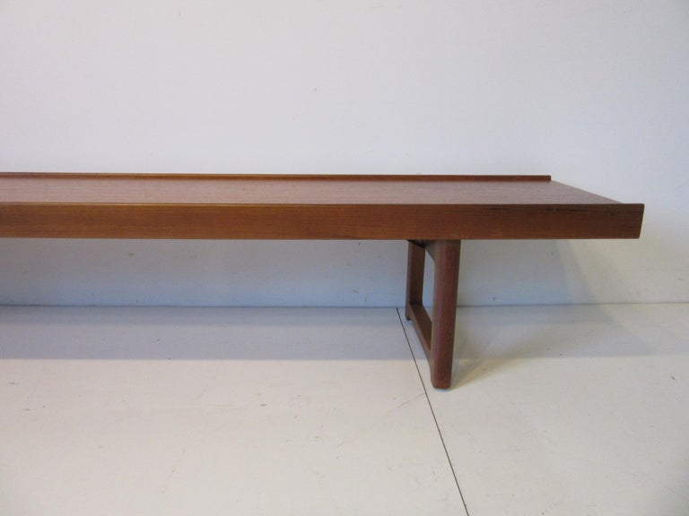 Mid-Century Modern Krobo Teak Bench by Tobjorn Afdal, Made in Norway For Sale