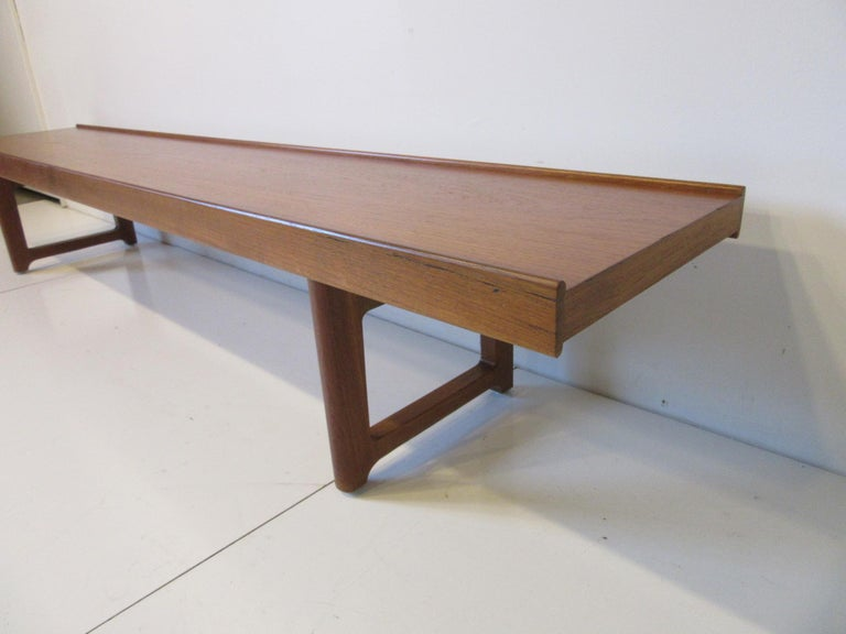 20th Century Krobo Teak Bench by Tobjorn Afdal, Made in Norway For Sale
