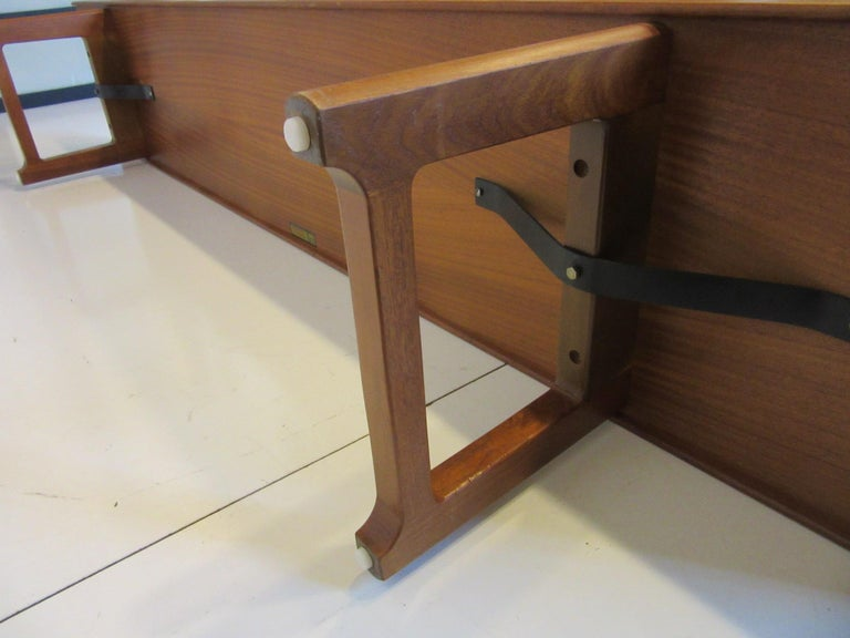 Krobo Teak Bench by Tobjorn Afdal, Made in Norway For Sale 3