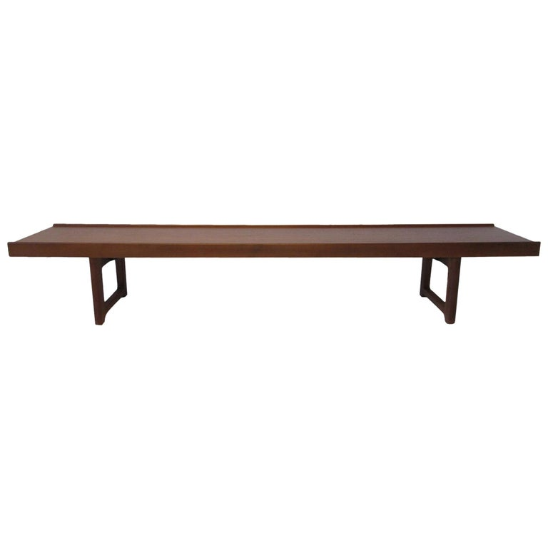 Krobo Teak Bench by Tobjorn Afdal, Made in Norway For Sale