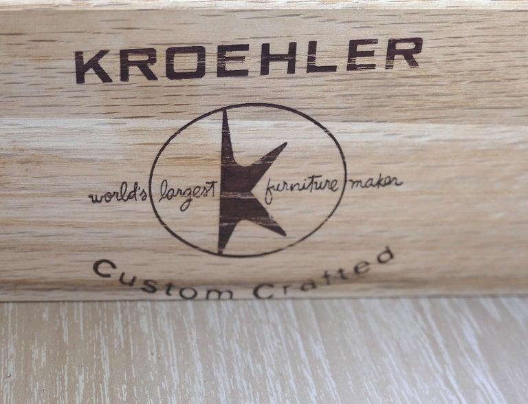 Kroehler Custom Crafted Mid-Century Modern Credenza 6