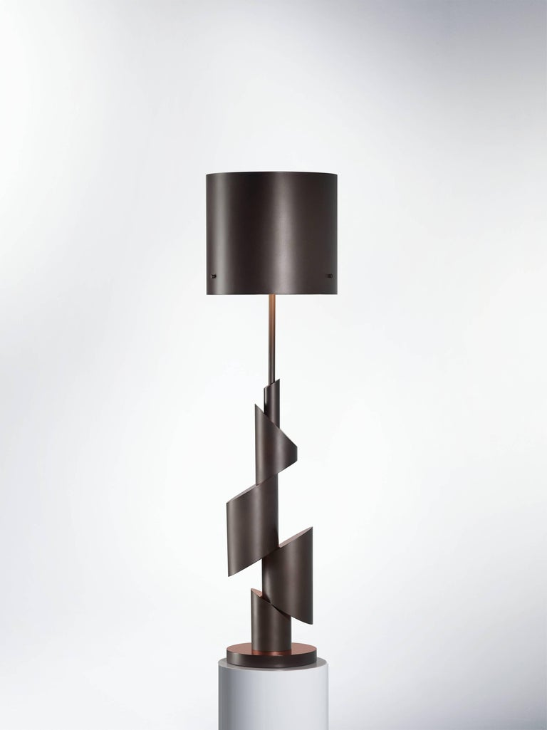 Post-Modern KRS I, Table Lamp, Signed William Guillon For Sale