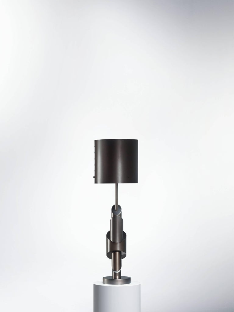 Post-Modern KRS II Table Lamp, Signed William Guillon For Sale