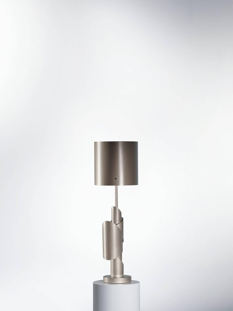 Post-Modern KRS III, Table Lamp, Signed William Guillon For Sale