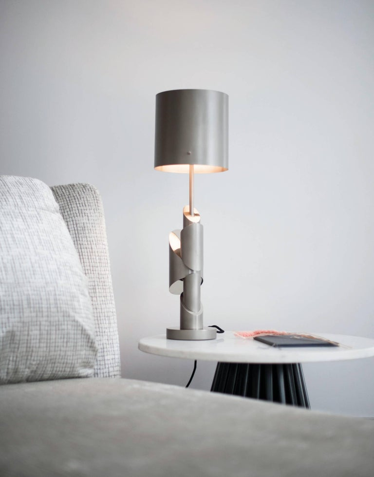 Contemporary KRS III, Table Lamp, Signed William Guillon For Sale