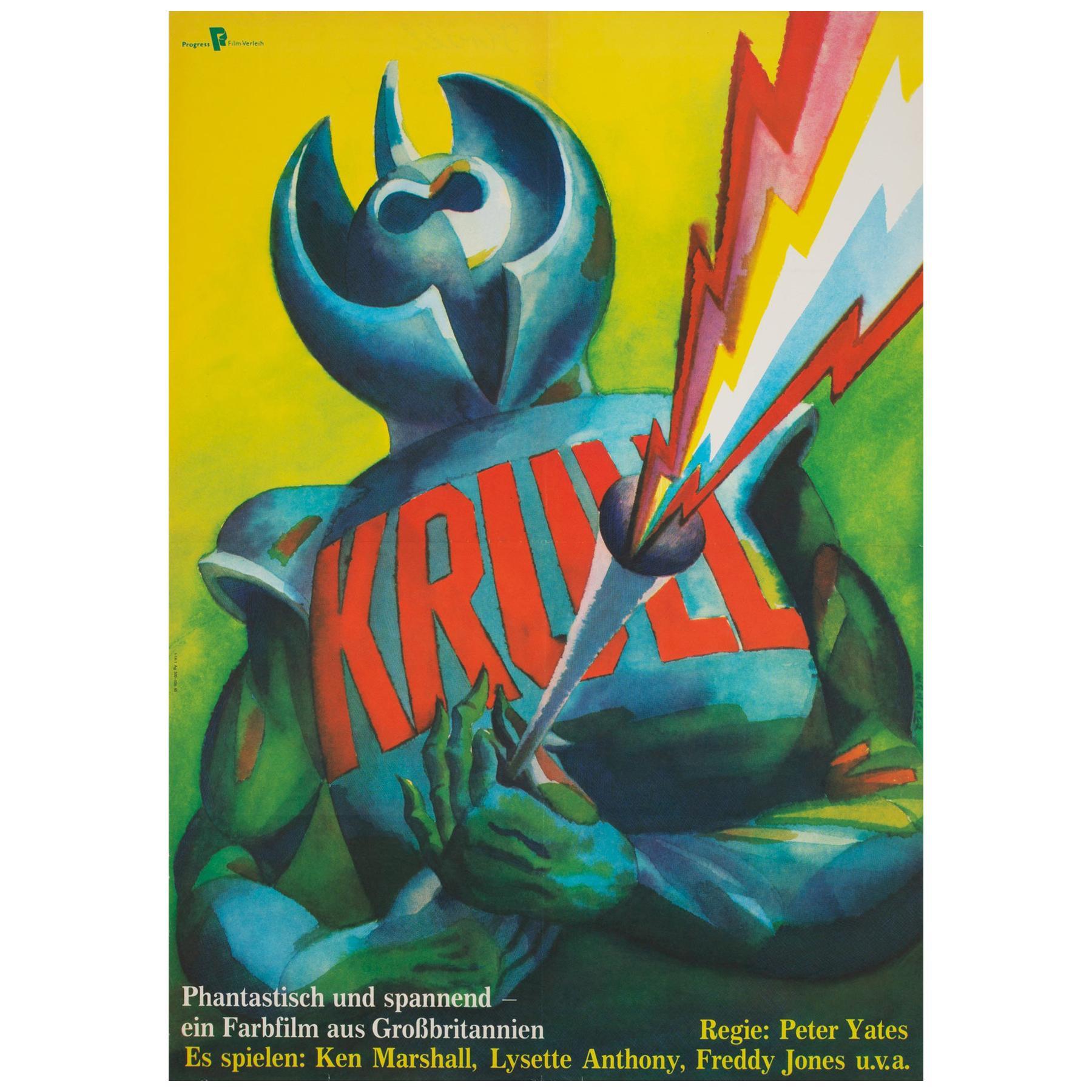 Krull 1985 East German Film Poster, Wengler