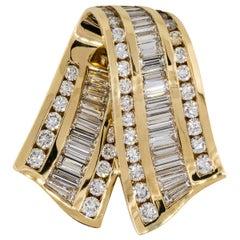 Krypell 3.50 Carat Diamond Light Pendant 18 Karat in Stock