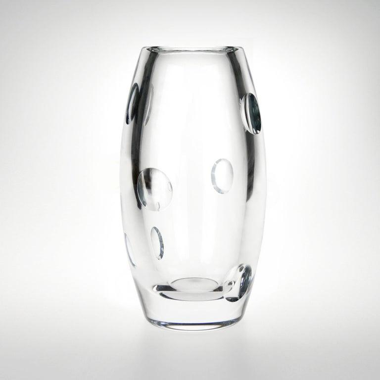 Modern Krystal Cité Vase by Malwina Konopacka For Sale