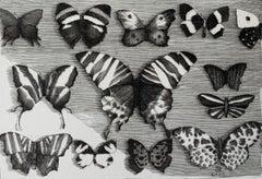 Collection - 21st Century Figurative Copperplate Print Black & White