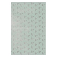 Kubrick Rug in Mint Green Tencel by Essential Home