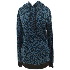 Kueen blue animalier sweater / hoodie