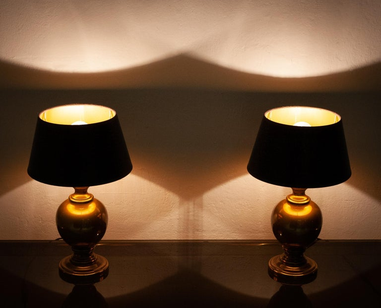 Classical Roman Kuhlmann Table Lamps Germany, 1970s For Sale