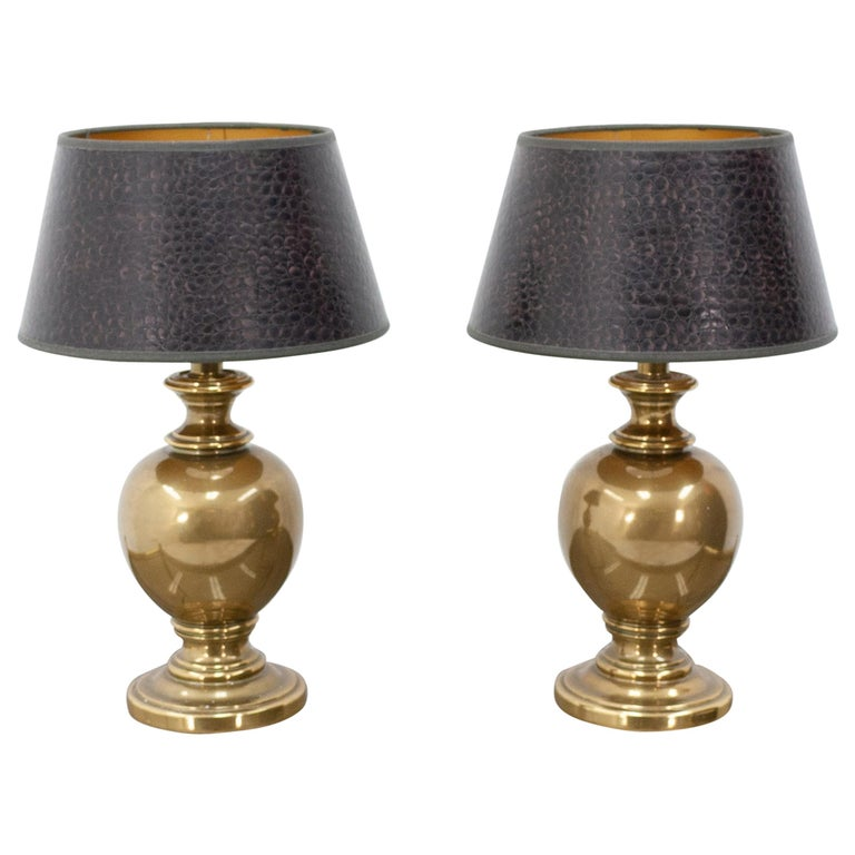 Kuhlmann Table Lamps Germany, 1970s For Sale