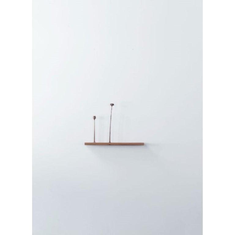 Contemporary Kukkii Sculpture, 2 Flowers, Light by Antrei Hartikainen For Sale