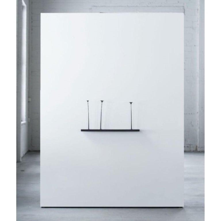 Kukkii Sculpture, 3 Flowers, Dark by Antrei Hartikainen In New Condition For Sale In Geneve, CH
