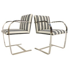 KULE x Forsyth Collection Ludwig Mies van der Rohe Brno Chairs, Pair