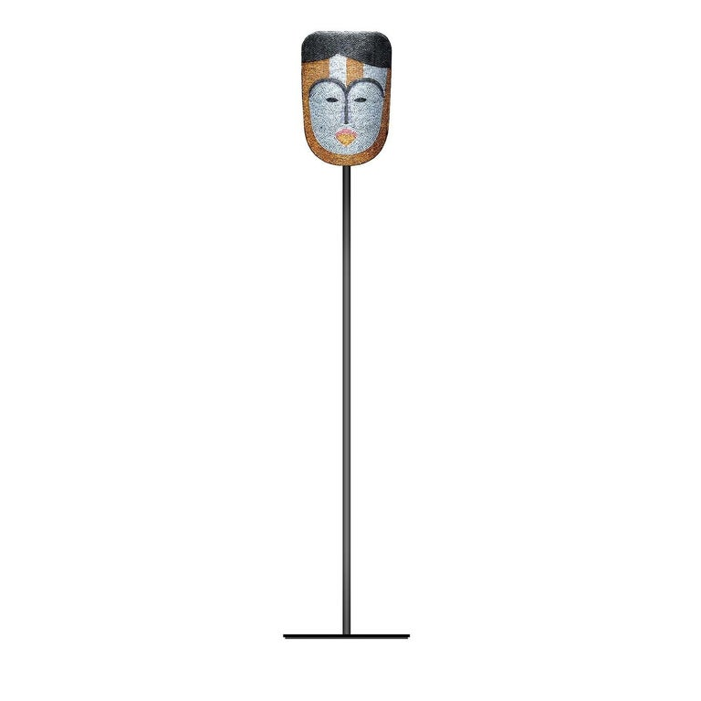 Kumi Tilla in Wonderland Mask with Stand For Sale