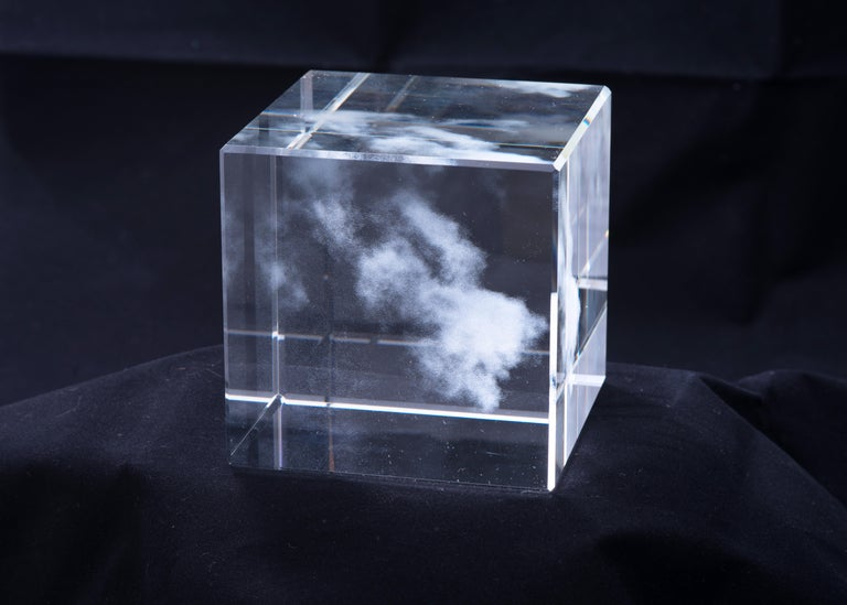 Modern Kumo 'Cloud' for the Glass House 'Shizen' Nature Series by Miya Ando For Sale