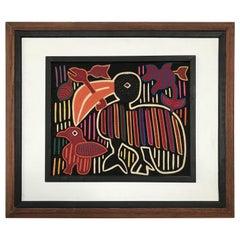 Kuna Mola Toucan Artwork