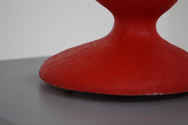 Kundalini ETA Red Table Lamp by Guglielmo Berchicci In Good Condition For Sale In Milano, IT