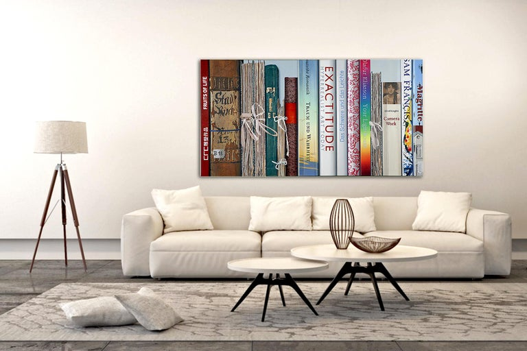 Book Collection Exactitude by Kuno Vollet - Hyperrealist, Contemporary Painting For Sale 1