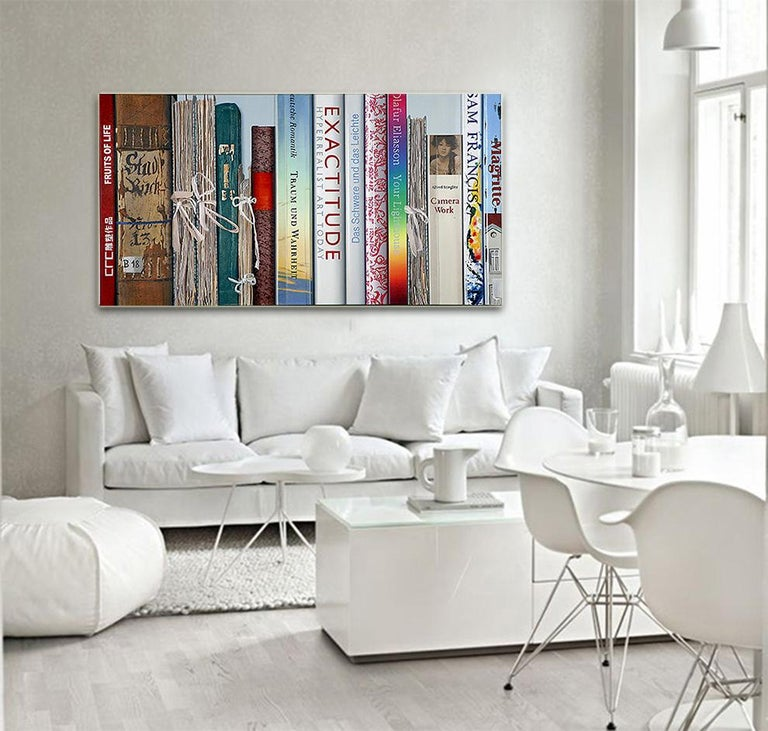 Book Collection Exactitude by Kuno Vollet - Hyperrealist, Contemporary Painting For Sale 3