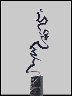Dance by Kuno Vollet Contemporary Steel Sculpture for indoor or outdoor